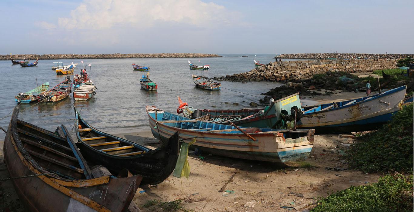 Chellanam fishing harbour