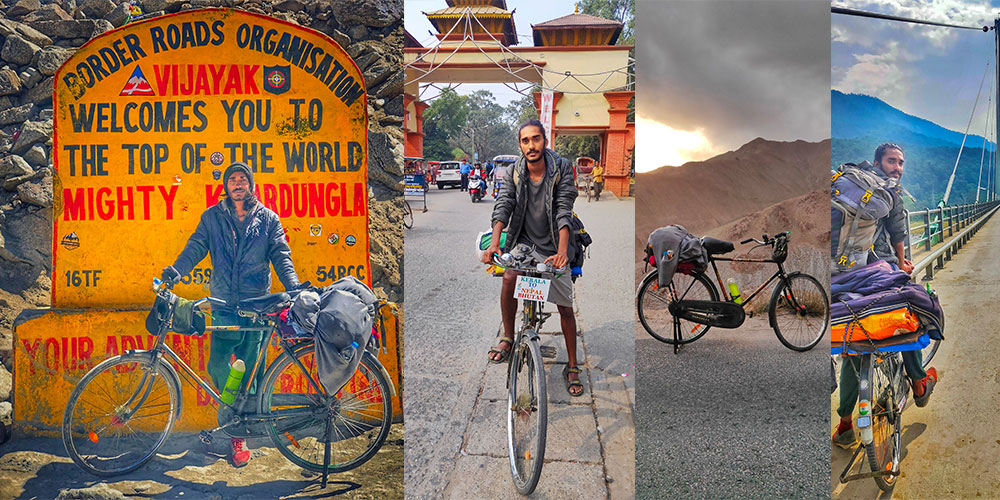 Grandpa's Cycle Story: From Angamaly to Kashmir